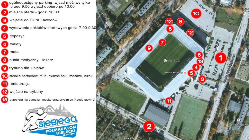mapka stadionu