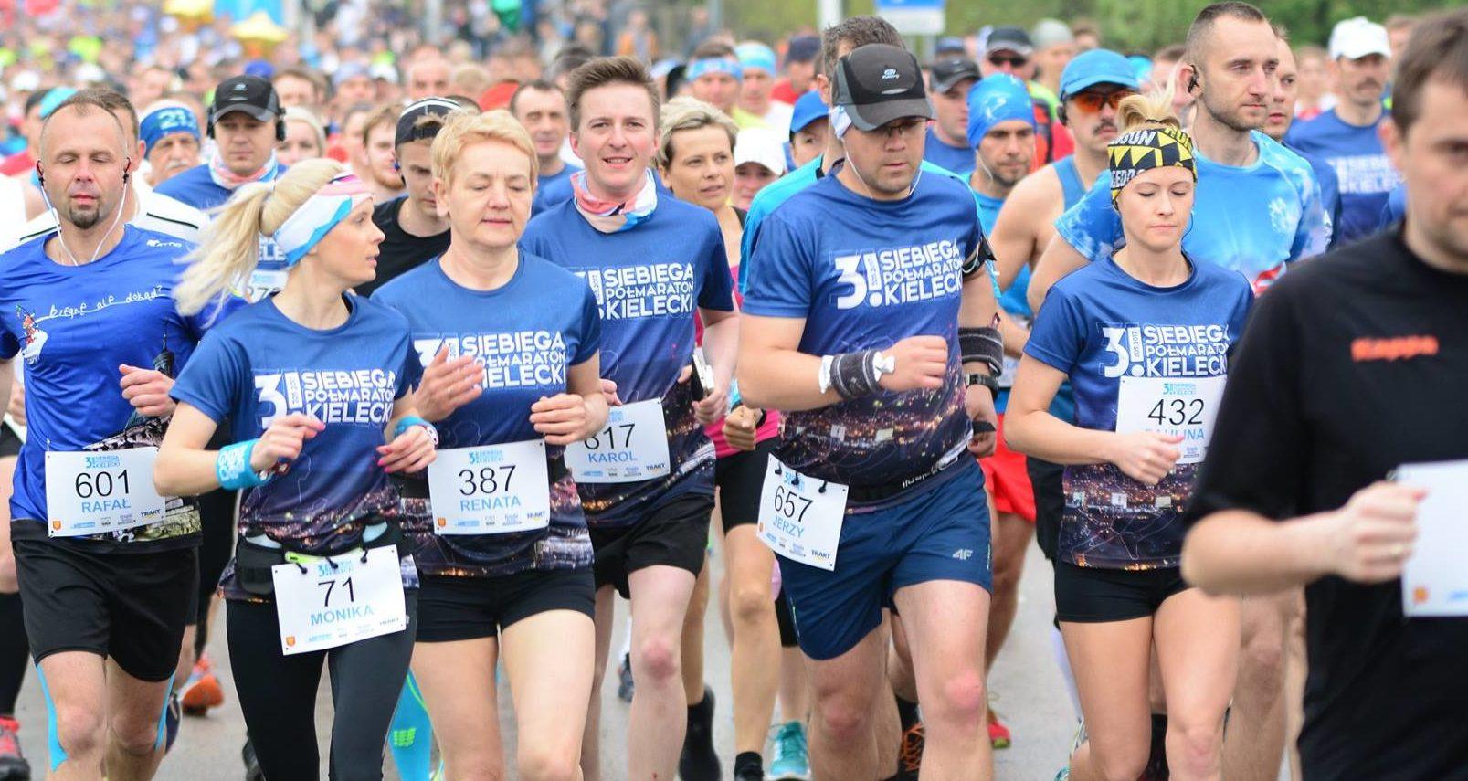 3.sieBIEGA Półmaraton Kielecki – WYNIKI